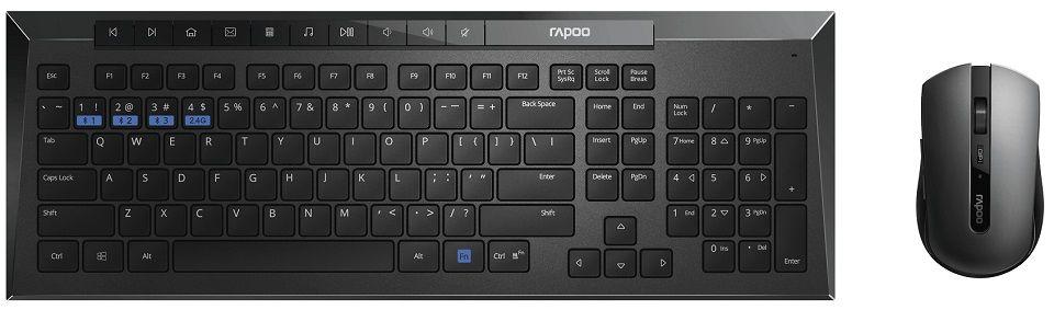 Rapoo 8200M set klávesnice + myš
