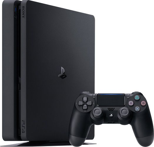 Sony PlayStation 4 Slim 1TB S +2x ovladač DualShock 4, herní konzole