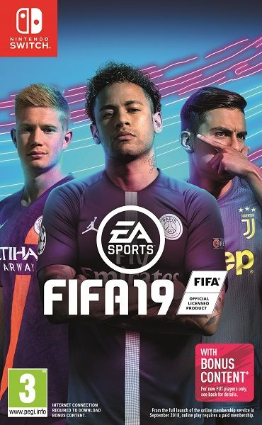 FIFA 19 Switch hra
