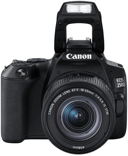 Canon EOS 250D + 18-55 mm f/4-5,6 IS STM, černý