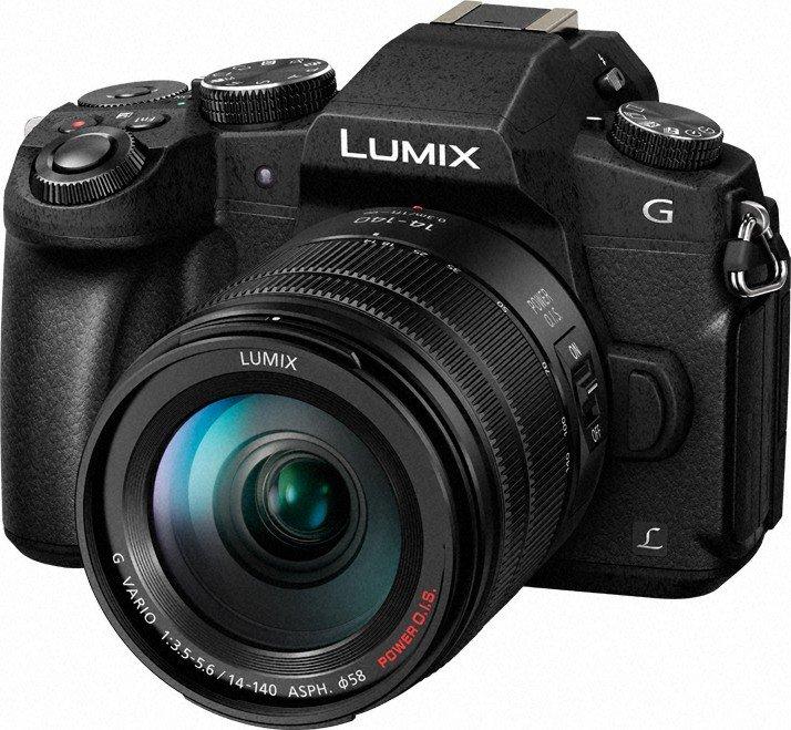 Panasonic Lumix DMC-G80 černý + G Vario 14-140mm