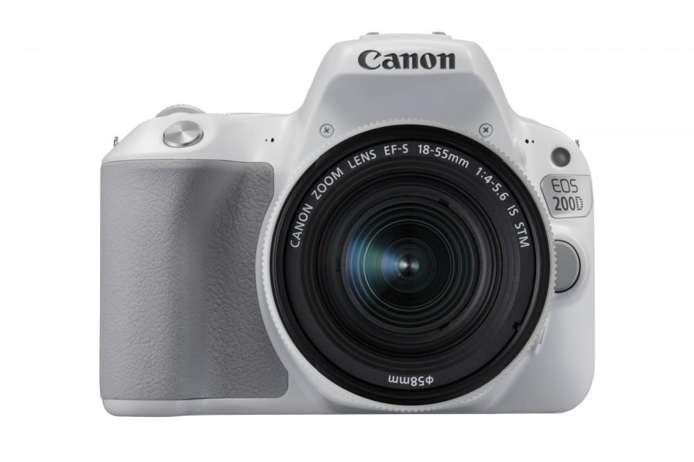 Canon EOS 200D + EF-S 18-55mm IS STM bílý