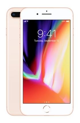 Apple iPhone 8 Plus 64 GB zlatý