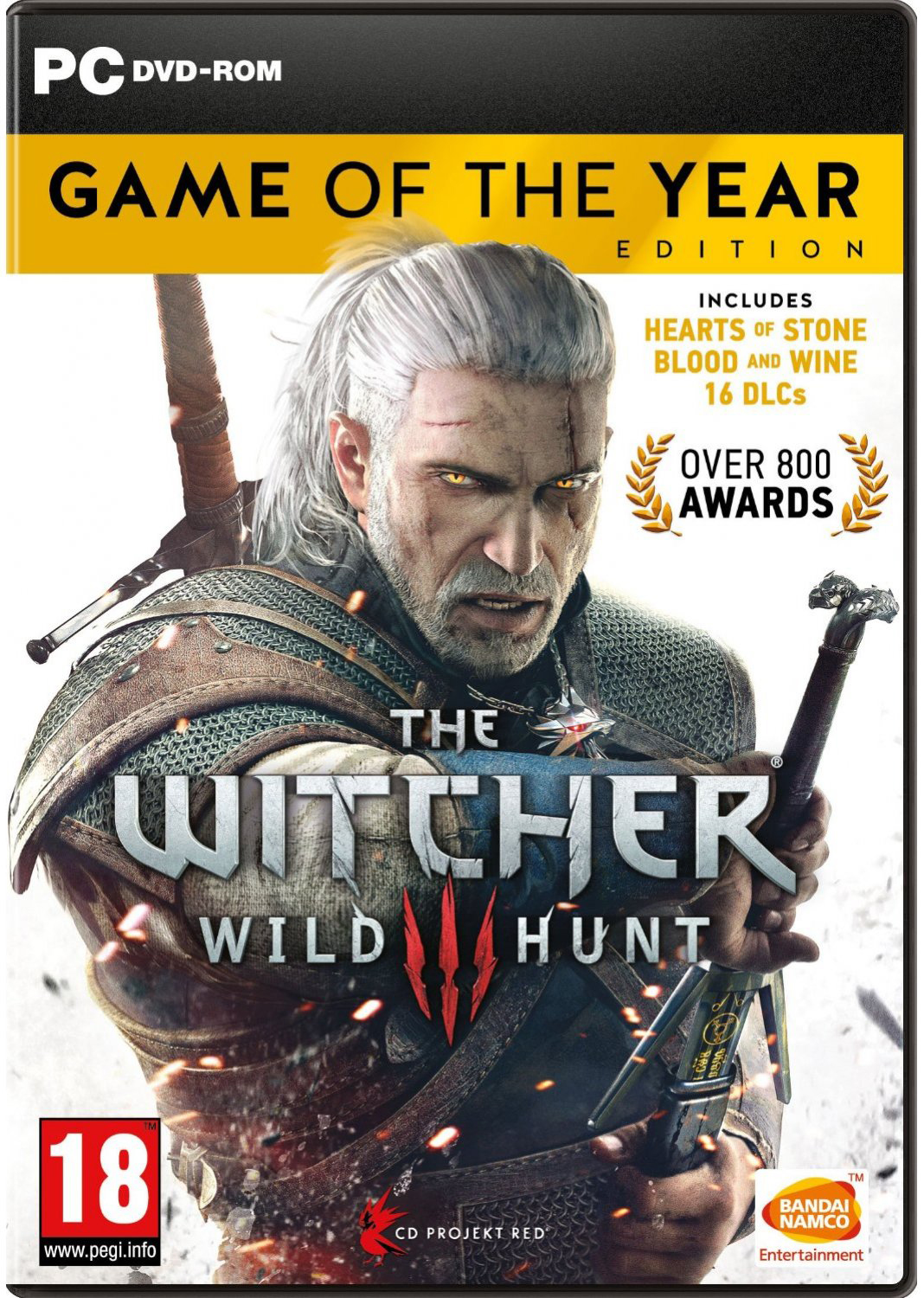 Zaklínač 3: Game of the Year Edition - PC hra