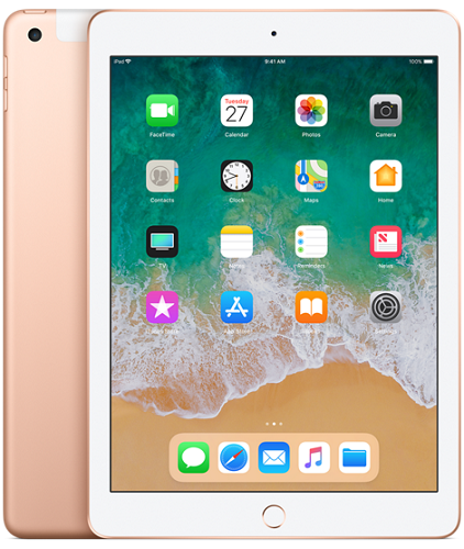 Apple iPad 2018 32GB WiFi Cell zlatý