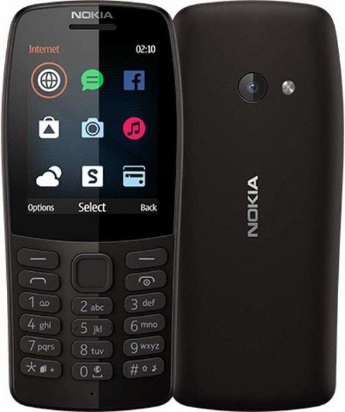 Nokia 210 Dual SIM černý