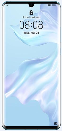 Huawei P30 Pro 256 GB bleděmodrý