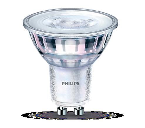 Philips Lighting 4,4W (35W) GU10 WW 36D