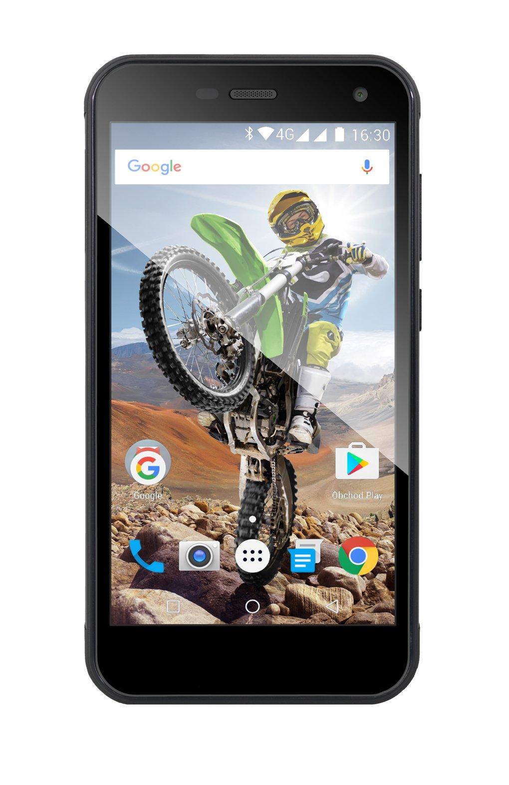Evolveo StrongPhone G4 Dual SIM černý