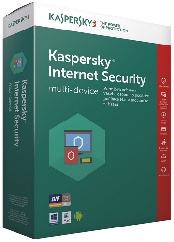Kaspersky Internet Security 2018 3PC/1R