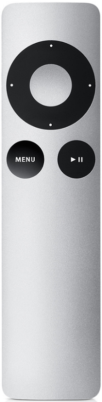 Apple Remote MM4T2ZM/A bílý