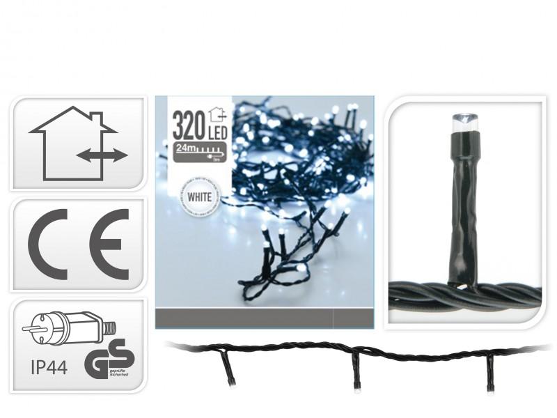Lios 320 bílá vánoční řetěz