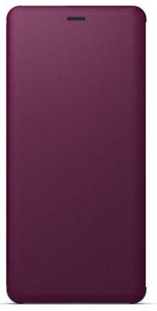 Sony Style Cover pro Sony Xperia XZ3, bordové
