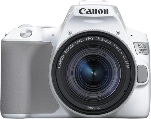 Canon EOS 250D bílý + Canon EF-S 18-55mm f/4-5,6 IS STM