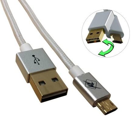 InHouse MKF-Reversible USB Gold 1,2 (bílý)