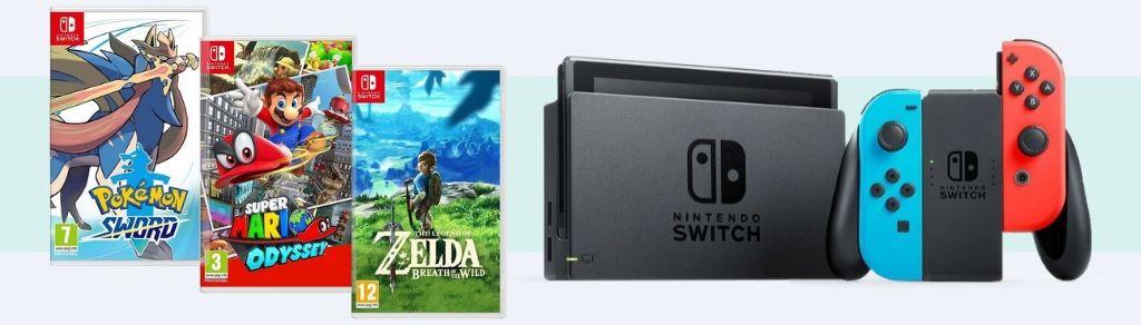 Nintendo - konzole a hry