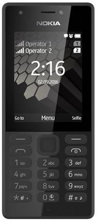 Nokia 216 Dual SIM černý