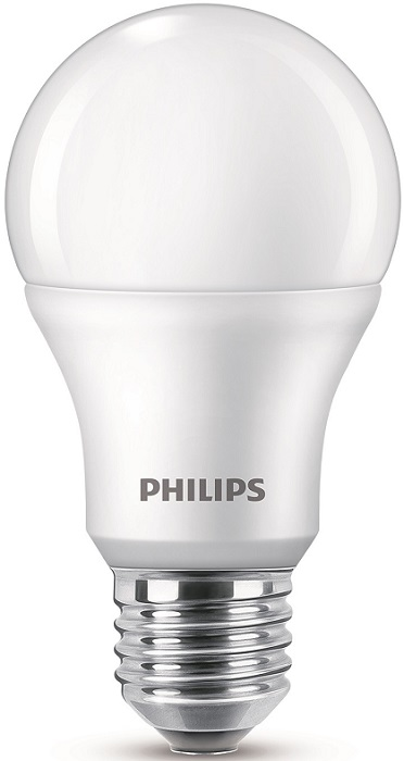 LED Philips žiarovka, 9W, E27