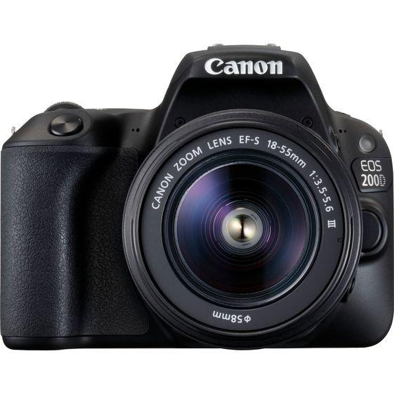 Canon EOS 200D + EF-S 18-55mm IS STM černý