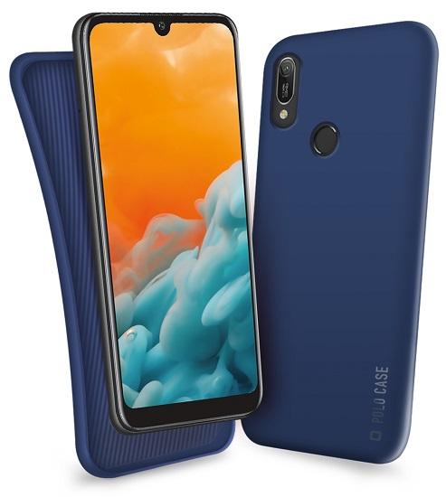SBS Polo pouzdro pro Huawei Y6 2019/Y6 Pro 2019, modrá