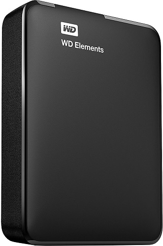 WD Elements Portable 4 TB USB 2.0 černý