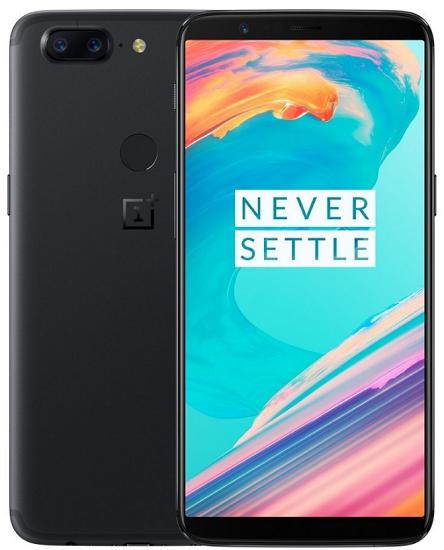 OnePlus 5T 128 GB černý