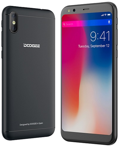 Doogee X53 černý