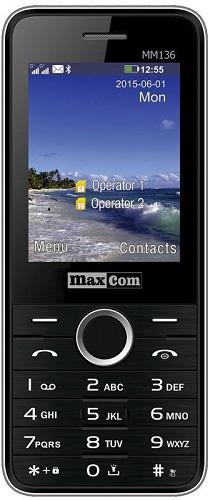 Maxcom MM136 Dual SIM černý