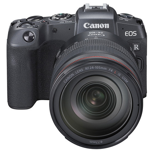Canon EOS RP + EF-EOS R adaptér + RF 24-105mm f/4,0 L IS USM