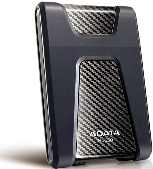 """A-DATA Durable HD650 2,5"""" 1TB USB 3.0 (černý)"""