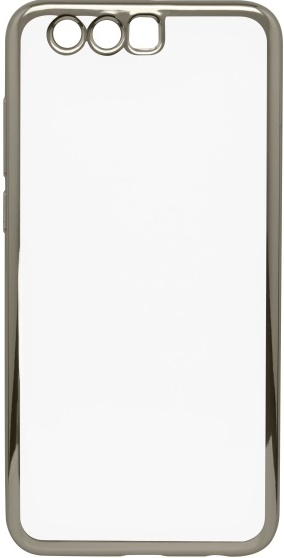 Mobilnet gumové pouzdro pro Honor 9, stříbrná