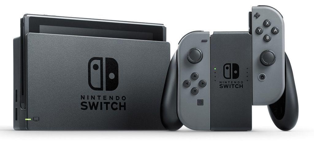 Nintendo Switch v2 (NSH002) šedá