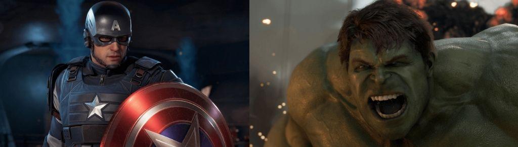 Captain America & Hulk ve hře Marvel´s Avengers