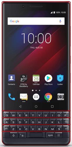 BlackBerry Key2 LE 64 GB modro-červený