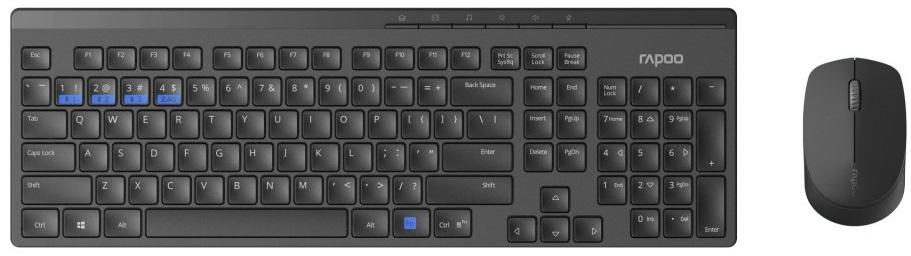 Rapoo 8100M set klávesnice + myš