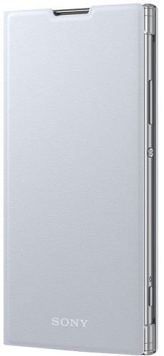 Sony Style Cover pro Sony Xperia XA2 Ultra, stříbrné