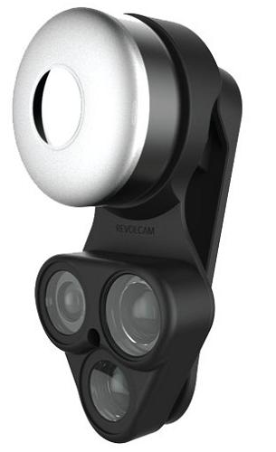 Shiftcam RevolCam objektiv 3v1, černá