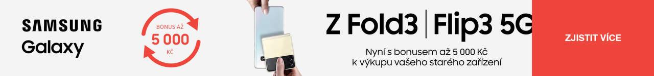 Čas na nový Samsung Z Fold3 nebo Flip3 5G