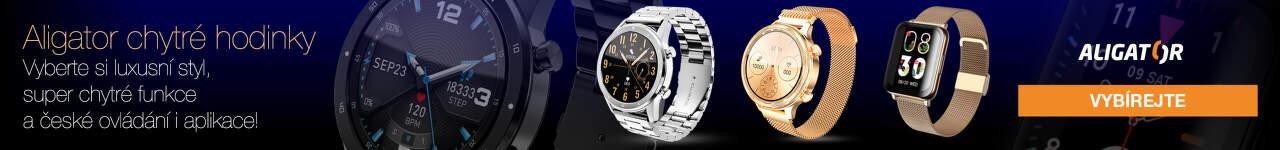 Chytré hodinky Aligator