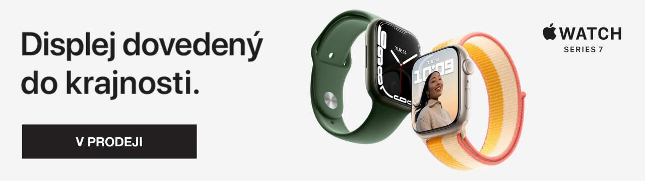Apple Watch Series 7 v prodeji