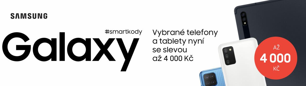 Extra slevy až 4 000 Kč na vybrané modely Samsung Galaxy