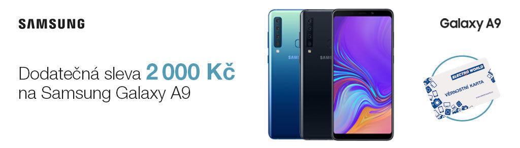 ac485cc5a Dodatečná sleva 2 000 Kč na Samsung Galaxy A9   ElectroWorld.cz