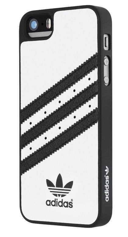 Adidas pouzdro pro Apple iPhone 5 5s (bílé)  e652fb3244c