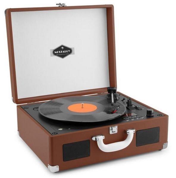 783bf056f Auna Peggy Sue CD hnědý gramofon | ElectroWorld.cz