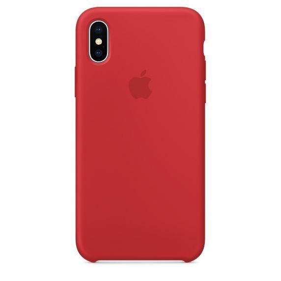 Apple silikonový kryt pro iPhone X 191321d90ef