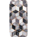 Winner Evolution 3D Cubes puzdro pre Samsung Galaxy A51 čierno-sivá