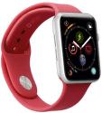 Sbs remienok pre Apple Watch 44 mm M/L červená