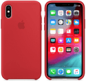 Apple silikonový kryt pro iPhone XS Max, (PRODUCT)RED
