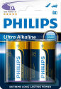 Philips Ultra Alkaline D (LR20), 2ks