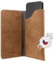 Fixed Pocket Book kožené pouzdro pro Apple iPhone 6/6S/7/8, hnědá